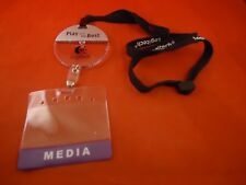 Logitech E3 Gaming Conference Promotional Lanyard Chain Media Pass Holder