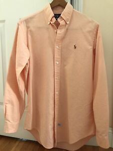 NEW WITHOUT TAGS RALPH LAUREN POLO MEN'S SHIRT 15 1/2 34