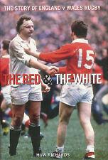"Inglaterra V PAIS DE GALES - ""la red & The White"" por Huw Richards Rugby Libro"