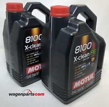Aceite lubricante Motul 8100 Xclean FE 5W-30 C2 C3 dexos 2, 10 litros (2x 5lts)
