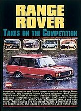 Range Rover Takes On the Competition (Brooklands Road Test Books)