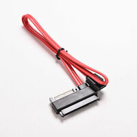 0.5M SATA to SAS HDD SFF-8482 SAS Ports Data Cable Plus 15Pin Power ConnectorFD