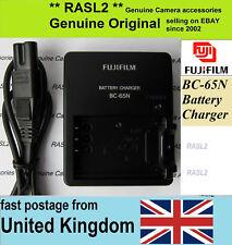Genuino Original Cargador FUJIFILM BC-65N NP-95 FinePix X100 S X100T, X70 X30 X-S1