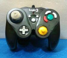 MANDO COMPATIBLE NINTENDO GAMECUBE LOGIC 3 MODEL GC80 1 K GAME PAD NEGRO