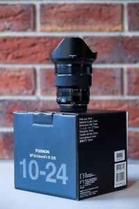 Fuji Fujifilm Fujinon XF 10-24mm f/4 R OIS Lens - Mint Condition!
