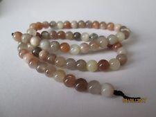 30 Moonstone Beads 6mm Round ~  Natural Semi precious gemstone