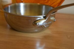 Mauviel 1830 M'Cook 20cm Curved Splayed Sautepan - Used a few times - No. 2 of 2