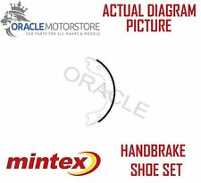 NEW MINTEX REAR PARKING BRAKE SHOE SET BRAKING SHOES GENUINE OE QUALITY MFR631