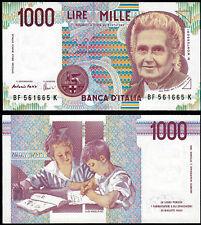 ITALY 1000 LIRE (P114c) 1990 UNC