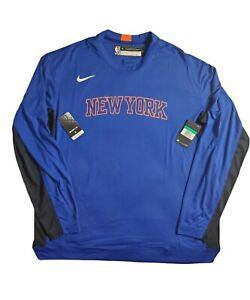 New York Knicks Nike ON COURT Dri-Fit SHOOTING SHIRT Size XL-TALL