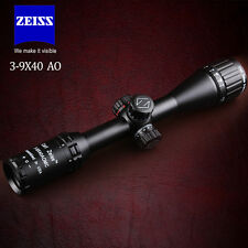 ZEISS 3-9X40 Hunting Rifle Scope Illuminated Mil Dot 1/4MOA w/ 20mm Rail Mounts