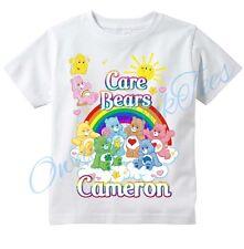 Care Bears Group Sunshine Custom t-shirt Personalize Birthday gift Add NAME
