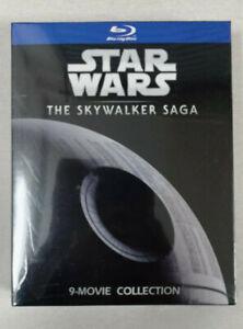 Star Wars The Skywalker Saga Collection Complete 1-9 Blu-ray, 9 Discs US Seller
