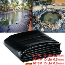 Teichfolie Gartenteich PVC 0.3mm Folie Teichbau Teich Ufermatte Koi Epdm Vlies