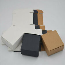 Kraft Paper Box For Gift Craft Candy Jewelry Packaging Wedding Party Favor Boxes