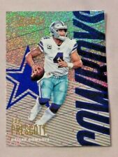 2018 Absolute Football Spectrum Blue #25 Dak Prescott Dallas Cowboys