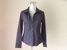 H&M Long Sleeve Button Down Shirt Machine Washable Tops & Blouses for Women