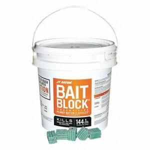 Jt Eaton 709-Pn Rodenticide,Green Blocks,9 Lb. Pail