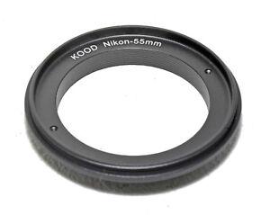 Kood Reversing Ring Nikon 55mm