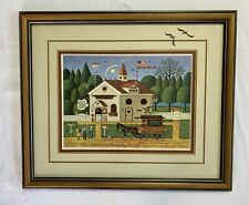 """Charles Wysocki Signed & Numbered 275/1000, Framed Lithograph, """"The Bird House"""""""