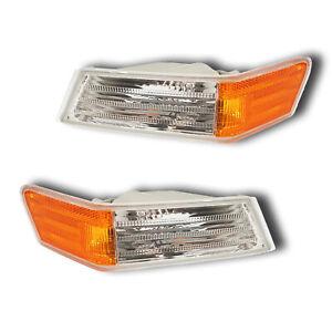 Fits 07-17 Jeep Patriot Driver + Passenger Parking Signal Light Lamp Assy 1 Pair
