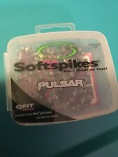 New in Box 18 PULSAR BLACK Q Fit Golf Spikes Cleats Softspikes Champ