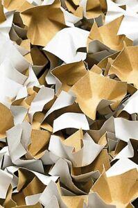 Papier-Verpackungschips weiss 120 Liter 1 Karton Füllmaterial Papierpolster