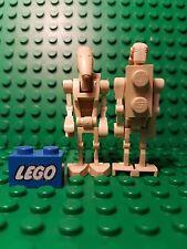 * Original/Minifiguras Lego Minifig Droide De Batalla Star Wars * Placa Trasera sw001a