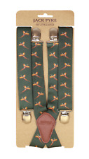Jack Pyke Elasticated Braces pheasant Pattern Hunting/Shooting Country