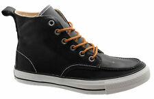 Converse Chuck Taylor Classic Hi Tops Mens Leather Boots Black 125647C B43E