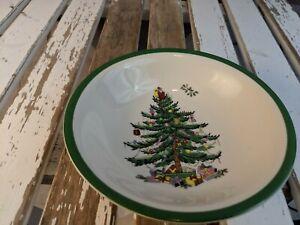 """spode christmas tree holiday cereal soup salad oatmeal bowl 6"""" salad"""