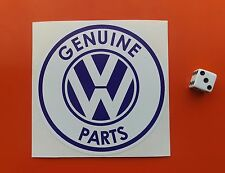 GENUINE VW PARTS Sticker VDUB T4 T5 T6 Van Transporter Camper Van