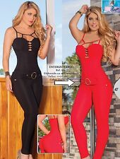 Colombian Enterizos Jumpsuits New Collection Size Available 3/4,5/6,7/8 US (RED)