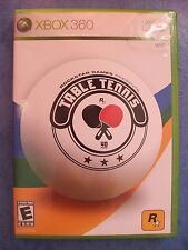 ROCKSTAR GAMES PRESENT TABLE TENNIS 2006 XBOX 360 COMPLETE CIB ACTUAL PIC TESTED