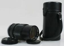 OLYMPUS OM SYSTEM 75-150MM F/4 LENS+CASE+CAPS