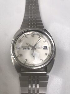 Seiko 5 Automatic 6119 7183 Day Date Japan Fully Working Great Condition