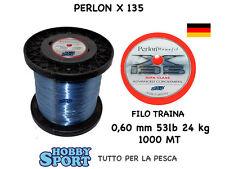 FILO PERLON  mt 1000 X 135 TRAINA BIG GAME 53 LB OMOLOGATO IGFA CLASS mm 0,60