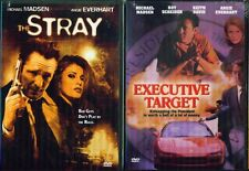 ANGIE EVERHART DOUBLE- Executive Target+ Stray- Michael Madsen- NEW 2 DVD