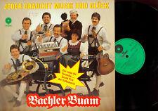 LP-BACHLER BUAM JEDER BRAUCHT MUSIK UND GLÜCK // VM RECORDS