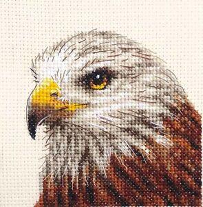 RED KITE Bird of Prey ~ Full cross stitch kit +all materials *Fido Stitch Studio