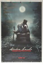 "Abraham Lincoln Vampire Hunter 2012 Double Sided Original Movie Poster 27"" x 40"""
