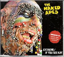 NAKED APES - EXTREME - ENHANCED CD SINGLE - MINT