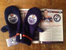 Edmonton Oilers 2013 Mittens Against Hockey Fights Cancer Oct 24th vs Capitals