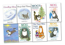 Judith Kerr Mog the Cat 8 Books Collection Set Pack NEW Mog the Forgetful Cat AU