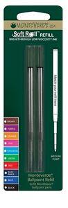2 x Montblanc Compatible Ballpoint Pen Refills BLACK