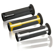 BARRACUDA COPPIA MANOPOLE RACING SUPERGRIP ARGENTO KAWASAKI Z 750