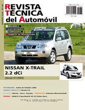 manual de Taller Y mecánica  NISSAN X TRAIL 2.2 DCI Desde 2004 Nº146