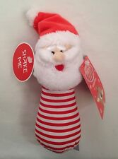 Rudolph Baby Rattle Kris Kringle Rudolph the Red Nosed Reindeer Santa Christmas
