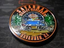 Genuine Harley Davidson Emblem Challenge Coin Savannah, Ga (Bikes)
