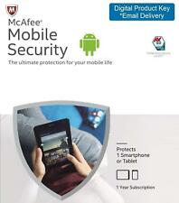 McAfee Mobile Security for Android Lastest Version | 1 Device | 1 Year License